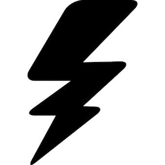 Thunderbolt silhouette