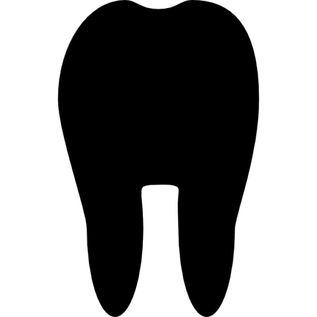 Teeth silhouette icons — Stock Vector © extracoin #112846708