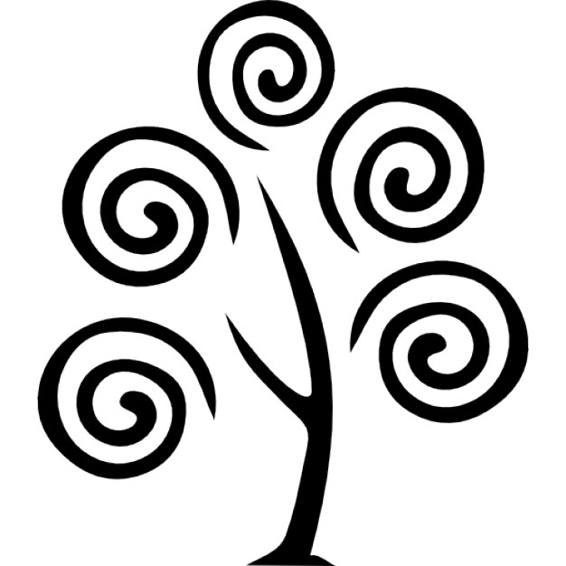 Tree with spirals