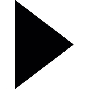 Triangle in black pointing to right