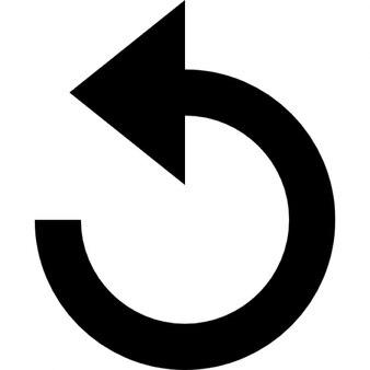 undo circular arrow icons free download