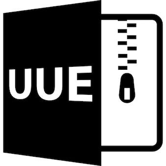 UUE開いているファイル形式
