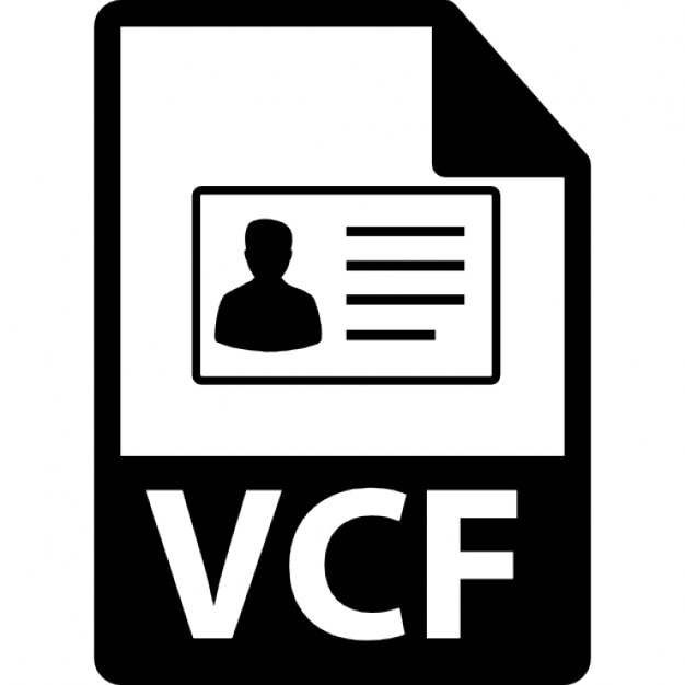 Vcf File Vectors, Photos and PSD files | Free Download