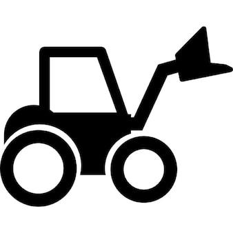 Wheel loader tractor