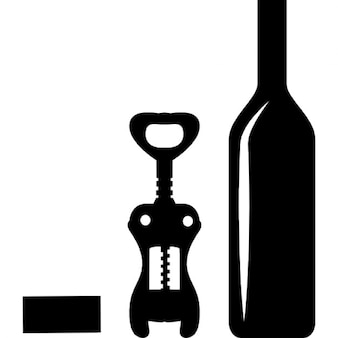 wine opener vectors photos and psd files free download. Black Bedroom Furniture Sets. Home Design Ideas
