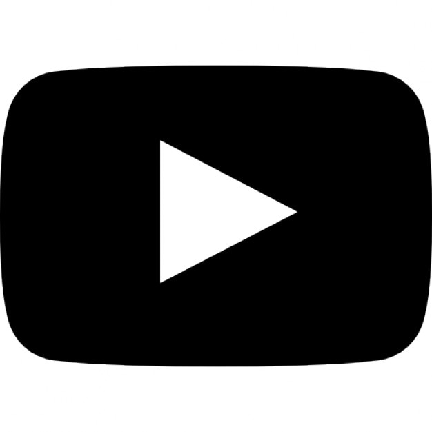 Youtube logo Icons   Free Download