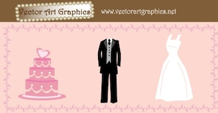 048 Wedding Free Vector Graphics