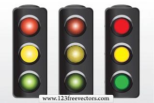 069 Traffic Signal Vector
