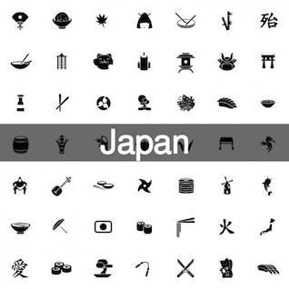 100 Japanese icons