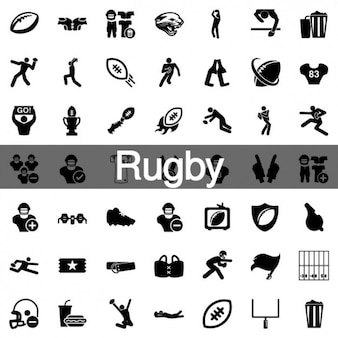 100 Rugby kit icons