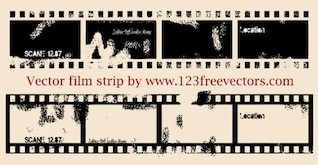 116 Vector Film Strip
