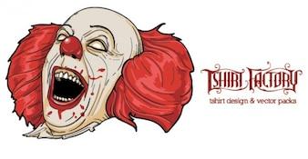 144 Evil Clown