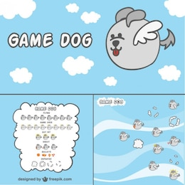 2D Game dog character