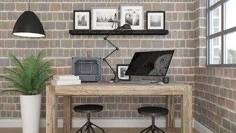 3D modern office interior