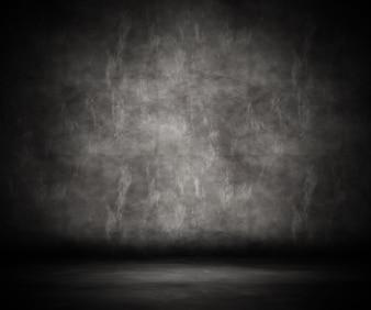 3d render of a grunge room interior