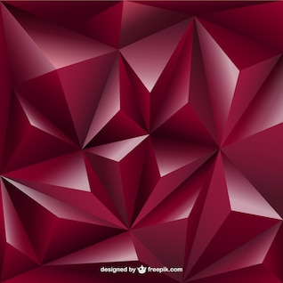 3D Triangles background