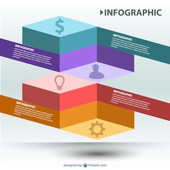 3d vector infographics