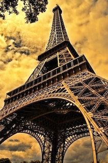paris tower french eiffel
