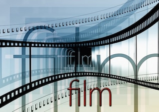 video cinema film strip movie stripes