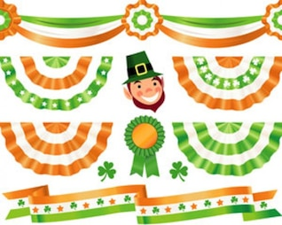 Stock Illustrations paddy's Decorations Vector