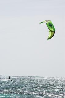 Kite surfing, surf