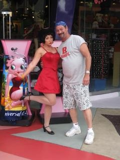 Me and Betty Boop