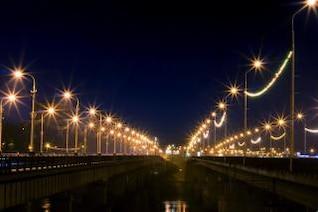 Night city, blur