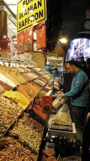 egyptian market in istanbul