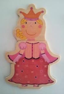 puzzle figurine  queen