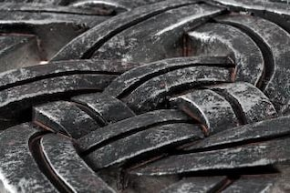 celtic stone knots  rocks