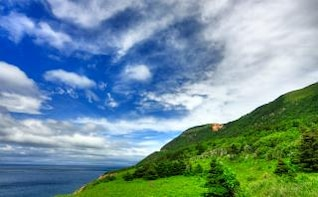 cabot trail   hdr  dynamic