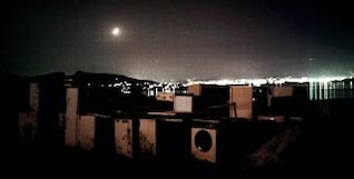 washing machines in greek moonlight