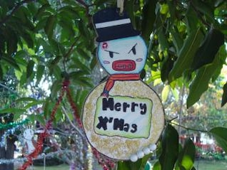 gangster christmas decoration