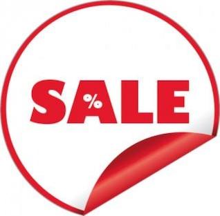 vector sticker sale