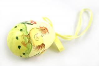 Easter egg, yellow, holliday