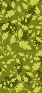 Leaves Camouflage Pattern