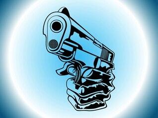 Gangster firearm shooting criminal violence