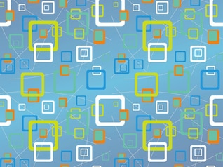 pattern with rounded square