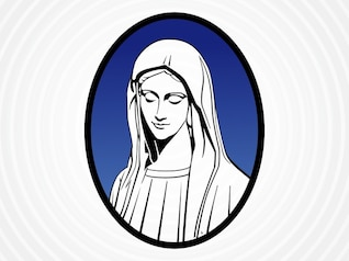 portrait of mary mother of jesus