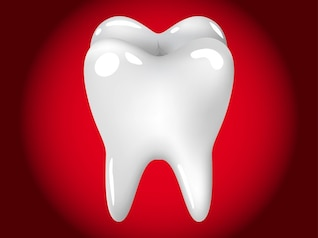 Healthy tooth dental care