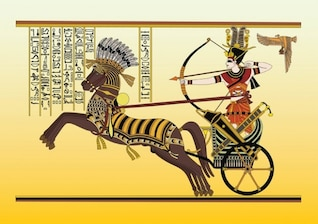 Ancient Egypt Vector Art