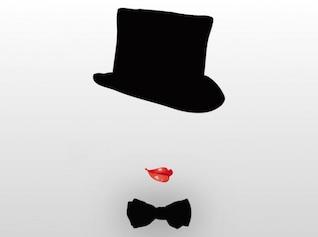 Cabaret show girl hat design