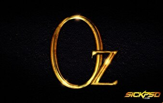 Oz the great and powerful Photoshop Style