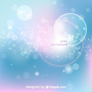 Bubbly Abstract Vector Background