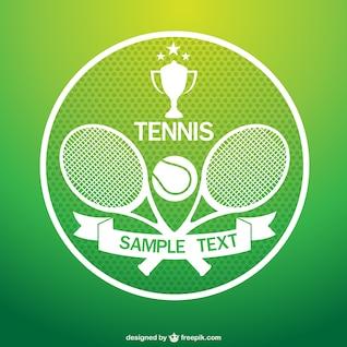 Tennis tournament vector art