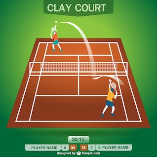 Tennis field free design