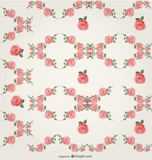 Roses pattern design