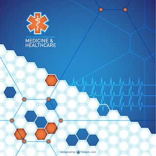 Abstract medical background design