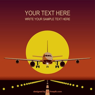 Airplane vector free download