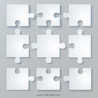 Vector jigsaw layout